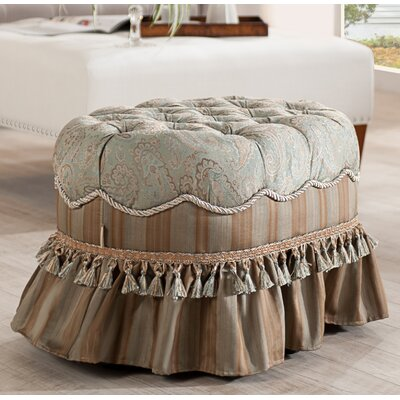 Toby Decorative Oval Ottoman