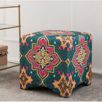 Isaac Accent Cube Ottoman