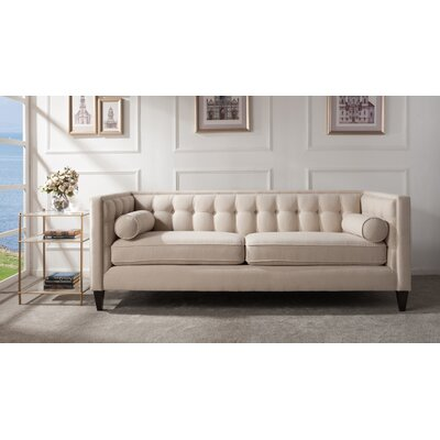 Willa Arlo Interiors WLAO2563 Derrill Tuxedo Sofa Upholstery