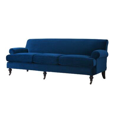 Huston Sofa Upholstery: Navy Blue
