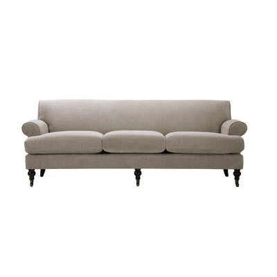 Huston Sofa Upholstery: Silver Gray