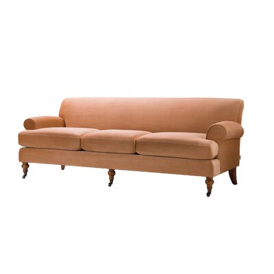 Huston Sofa Upholstery: Orange
