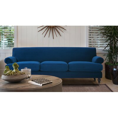Huston Sofa Upholstery: Navy Blue