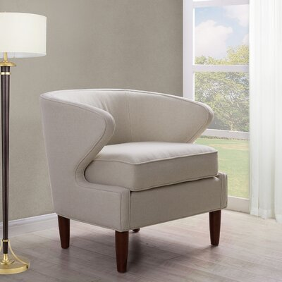 Altizer Barrel Chair Upholstery: Sky Neutral