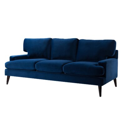 Nathanial Sofa Upholstery: Navy Blue