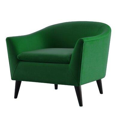 Talbert Barrel Chair Upholstery: Evergreen