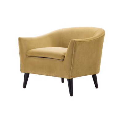 Talbert Barrel Chair Upholstery: Gold