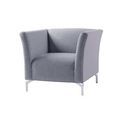Talbott Club Chair Upholstery: Sky Neutral