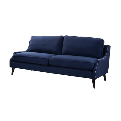 Taliaferro Upholstered Sofa Upholstery: Midnight Blue