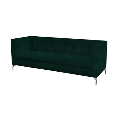 Lando Standard Sofa Upholstery: Hunter Green