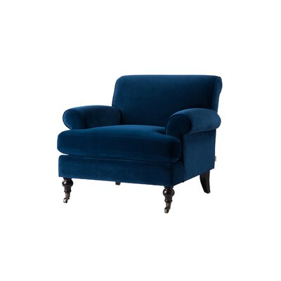 Ridgedale Armchair Upholstery: Navy Blue