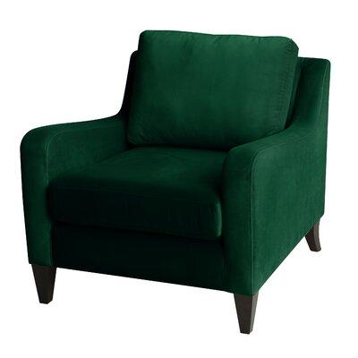 Micaden Armchair Upholstery: Evergreen