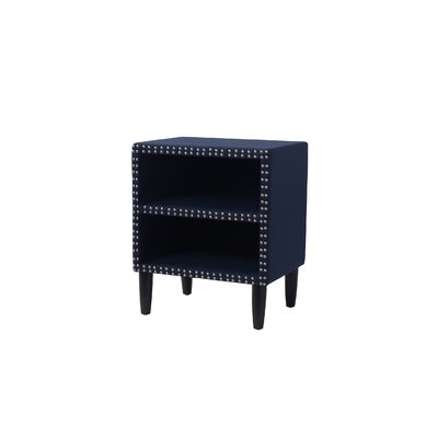 Eileen Nightstand Color: Midnight Blue