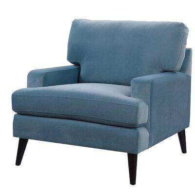 Aryanna Armchair Upholstery: Arctic Blue
