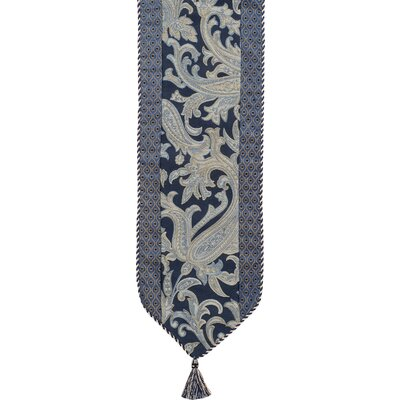 Hampton Table Runner With Cord And Tassels
