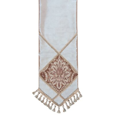 Vellore Table Runner With Braid And Tassels