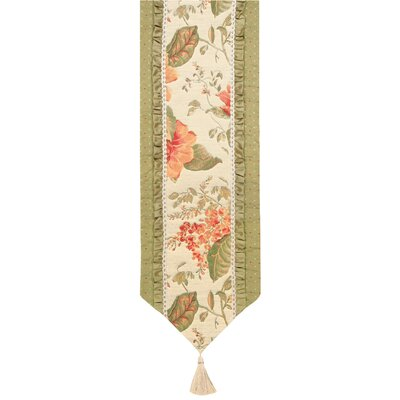 Brianza Table Runner With Braid Andribbon