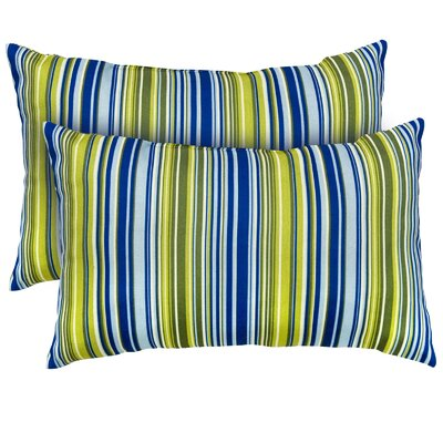 Vivid Stripe Throw Pillow
