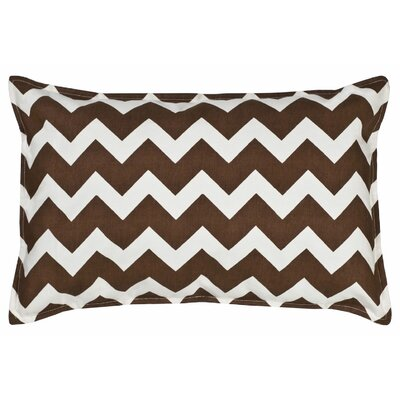 Sandler Cotton Canvas Lumbar Pillow Color: Brown