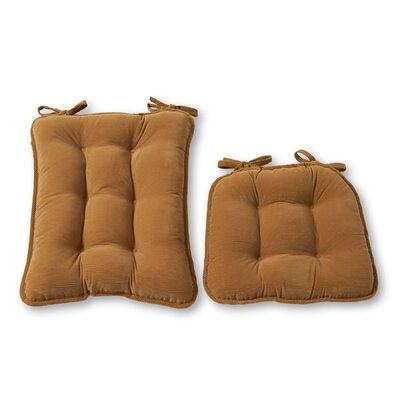 Rocking Chair Cushion Size: Jumbo, Color: Khaki