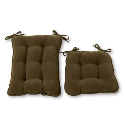 Rocking Chair Cushion Size: Jumbo, Color: Sage