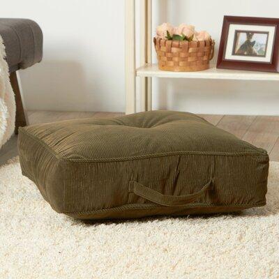 Merritt Floor Pillow Size: 5 H x 21 W x 21 D, Color: Sage