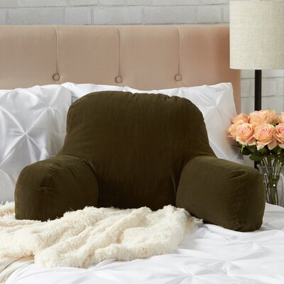 BriarCreek Bed Rest Pillow Color: Sage Green