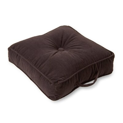 Aftonshire Floor Pillow Color: Charcoal