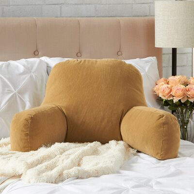 BriarCreek Bed Rest Pillow Color: Buff