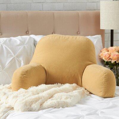 Hyatt Bed Rest Pillow Color: Cream