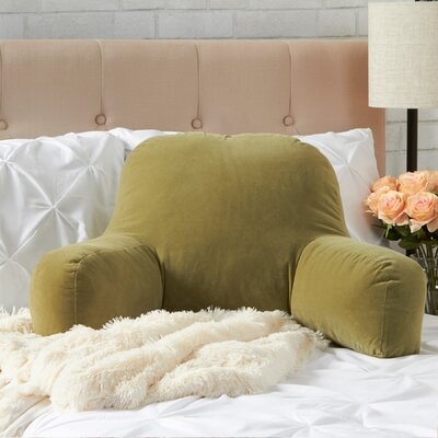 BriarCreek Bed Rest Pillow Color: Moss