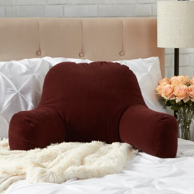Omaha Bed Rest Pillow Color: Merlot