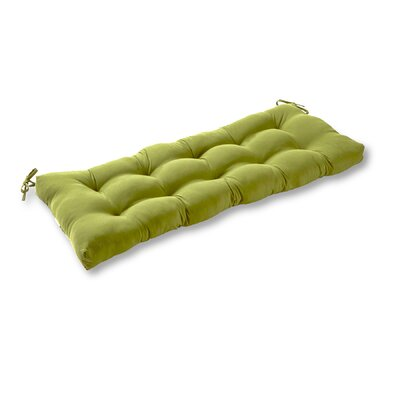 Outdoor Bench Cushion Fabric: Summerside Green