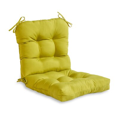 Outdoor Lounge Chair Cushion Fabric: Kiwi