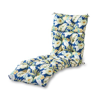 Outdoor Chaise Lounge Cushion Fabric: Marlow