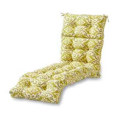 Outdoor Chaise Lounge Cushion Fabric: Shoreham