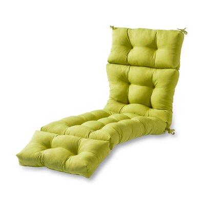 Outdoor Chaise Lounge Cushion Fabric: Kiwi