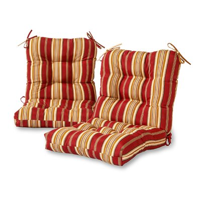 Outdoor Lounge Chair Cushion Color: Roma Stripe