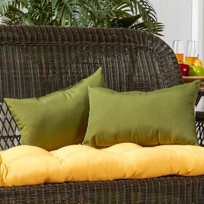 Sarver Outdoor Lumbar Pillow Color: Summerside Green