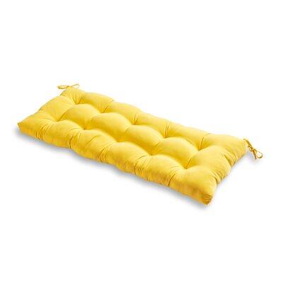 Outdoor Bench Cushion Fabric: Sunbeam