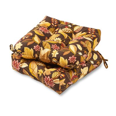 Outdoor Dining Chair Cushion Color: Timberland Floral