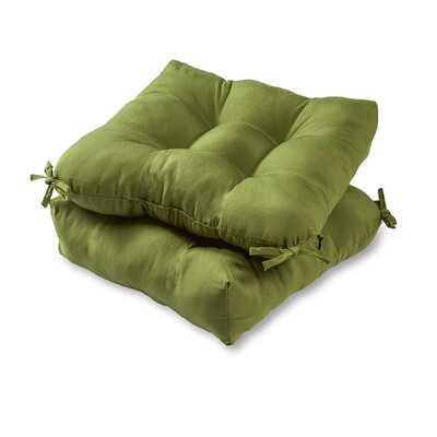 Outdoor Dining Chair Cushion Fabric: Summerside Green