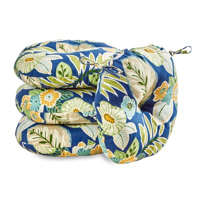 Marlow Floral Outdoor Dining Chair Cushion