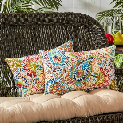Outdoor Lumbar Pillow Color: Jamboree