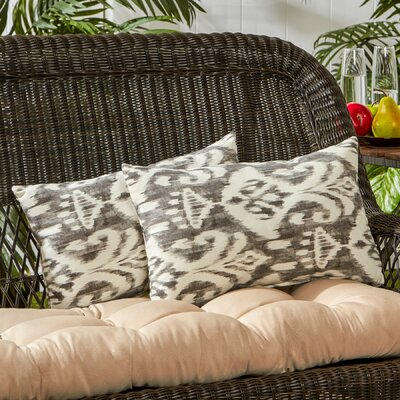 Outdoor Lumbar Pillow Color: Graphite