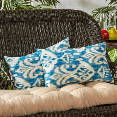 Outdoor Lumbar Pillow Color: Sea Side