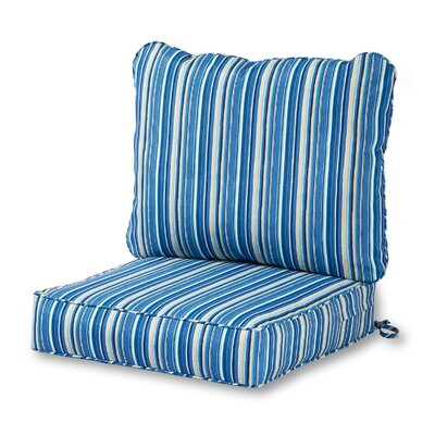 Outdoor Lounge Chair Cushion Fabric: Sapphire