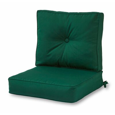 Deep Outdoor Sunbrella Cushion Fabric: Forest Green