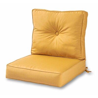 Deep Outdoor Sunbrella Cushion Fabric: Wheat