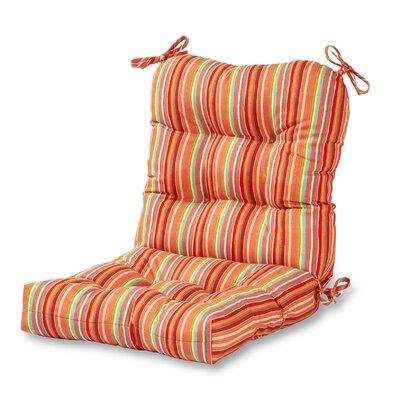 Outdoor Chair Cushion Fabric: Watermelon